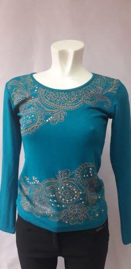 Блузки женские голубая (46 р.)