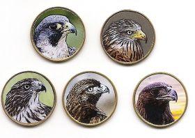 Орлы 10 песет Саха́рская Ара́бская Демократи́ческая респу́блика 2019 набор 5 монет