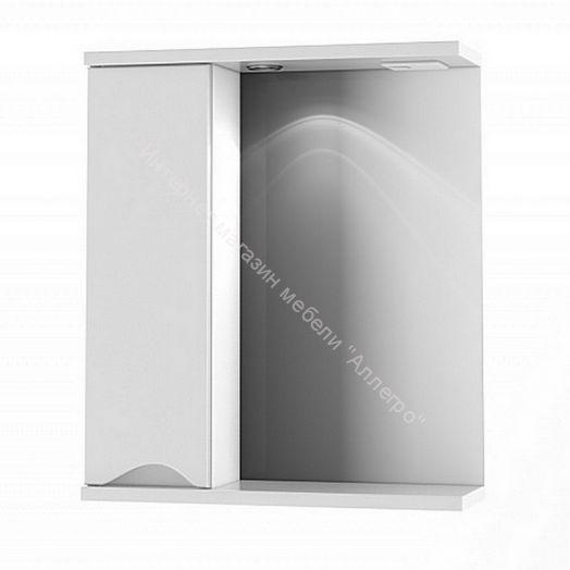 """Шкаф-зеркало """"BELL"""" 600 со светом (левый)"""