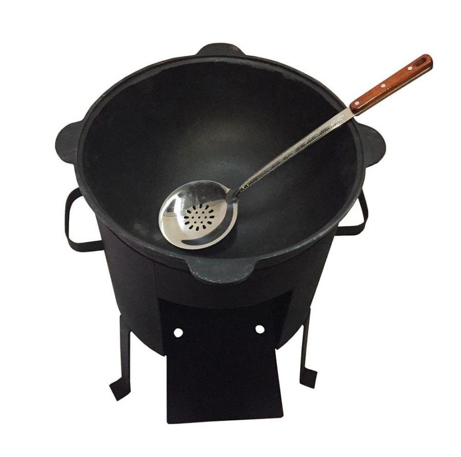 Казан 6л+печь+шумовка