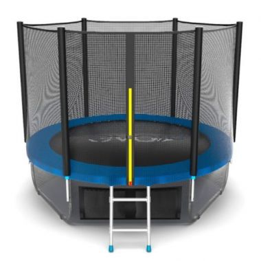 EVO JUMP External 8ft (Blue) + Lower net