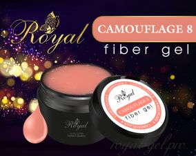 FIBER GEL CAMOUFLAGE № 8 ROYAL  50 мл.