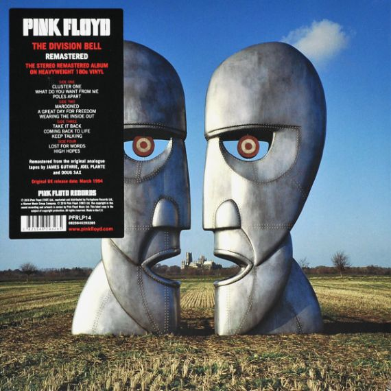 PINK FLOYD  The Division Bell (2LP) 1994 (2016)