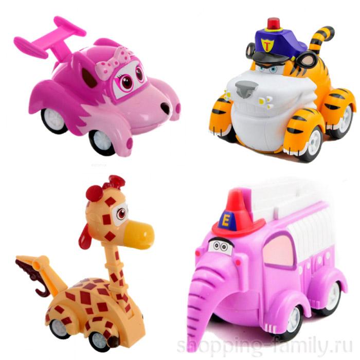 Набор инерционных игрушек из серии Vroomiz