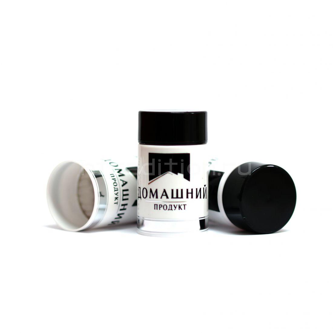 Колпачок с дозатором Домашний продукт чёрный (Гуала 47 мм) / 10 шт