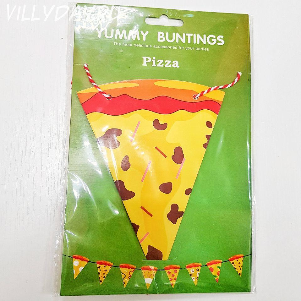 Гирлянды,вымпел,Пицца