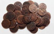 36 монет ДЕНЬГА Елизаветы Петровна