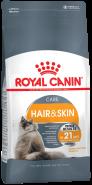 Royal Canin Hair & Skin Care Корм для кошек с проблемной шерстью и чувствительной кожей (2 кг)