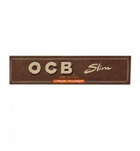 Сигаретная бумага OCB Unbleached Virgin Paper Slim
