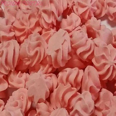Украшение сахарное Мини-безе (розовые) 50гр.