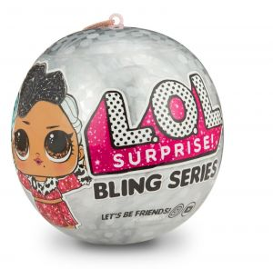 ЛОЛ LOL Surprise Doll Holiday Bling Glitter Series Big Sisters