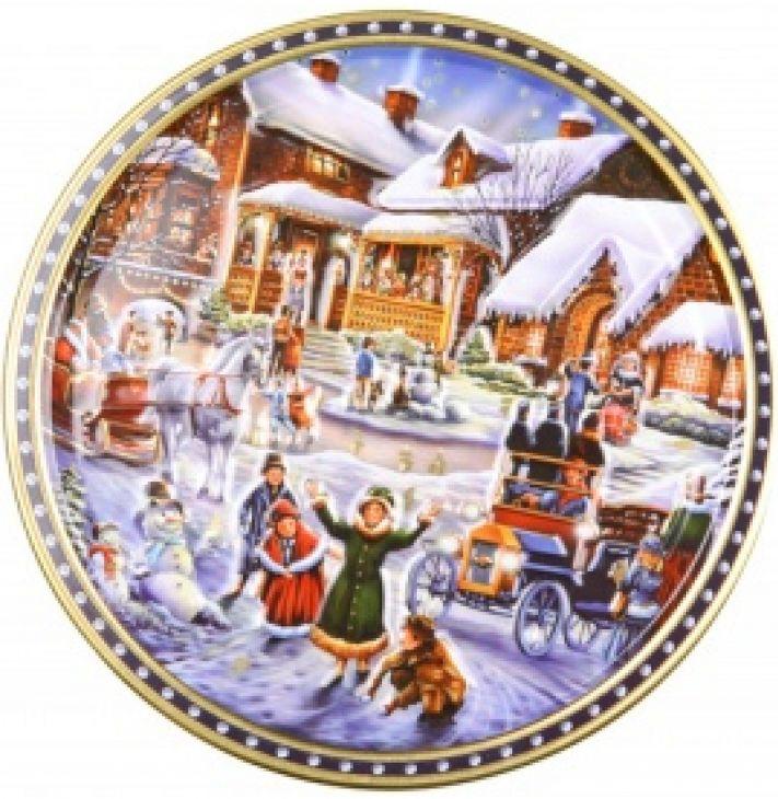 Печенье в жести Winter Village 400 гр
