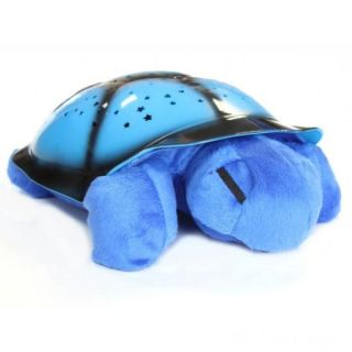 Ночник музыкальный проектор звездного неба Черепаха, Цвет: Голубой