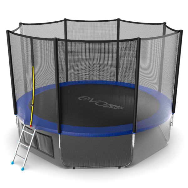 EVO JUMP External 12ft (Blue) + Lower net