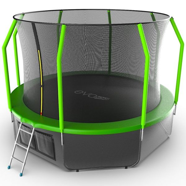 EVO JUMP Cosmo 12ft (Green) + Lower net