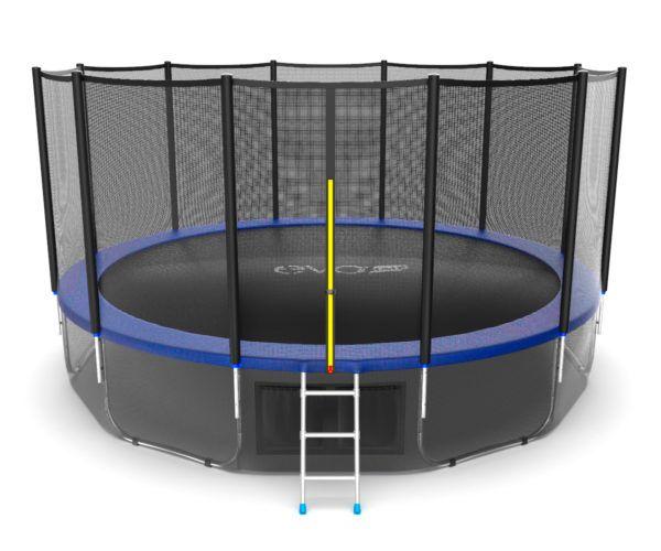 EVO JUMP External 16ft (Blue) + Lower net