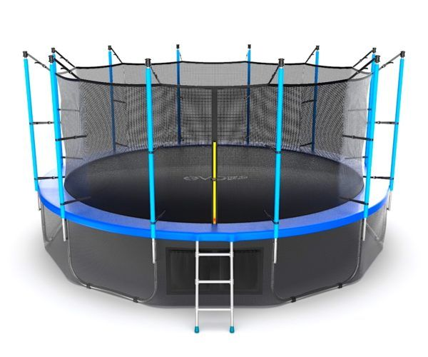 EVO JUMP Internal 16ft (Blue) + Lower net