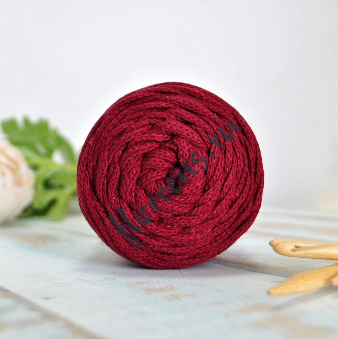 Шнур для вязания / бордо