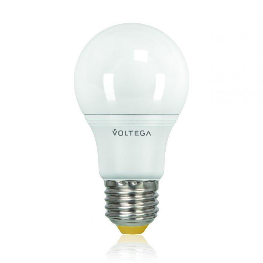 Лампа светодиодная Voltega E27 8W 4000К шар матовый VG2-A2E27cold8W 5736