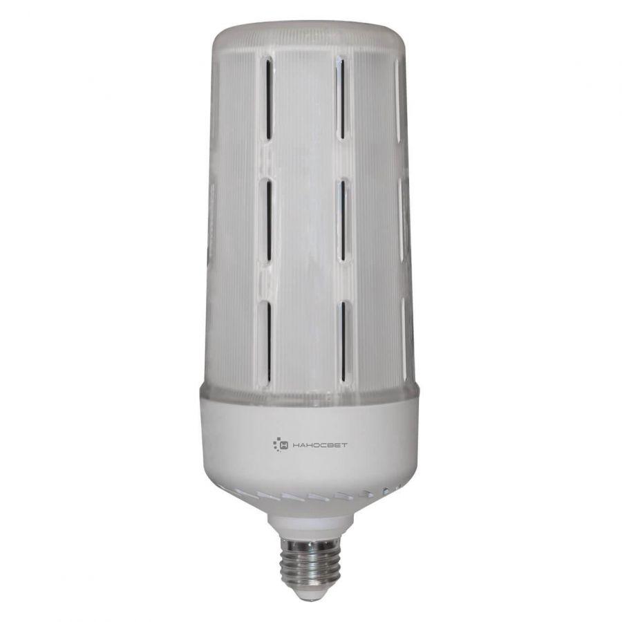 Лампа светодиодная Наносвет E27 50W 4000K матовая LE-LP-T90-50/E27/850 L351