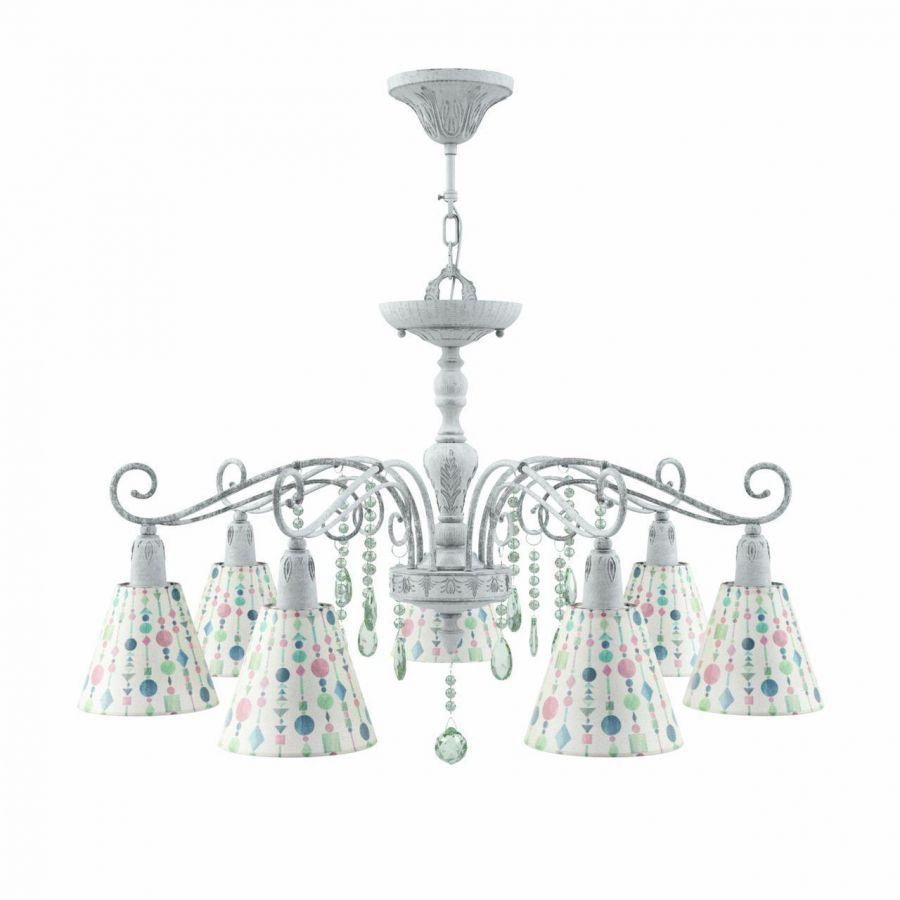 Подвесная люстра Lamp4you Provence E4-07-G-LMP-O-17-CRL-E4-07-GR-DN