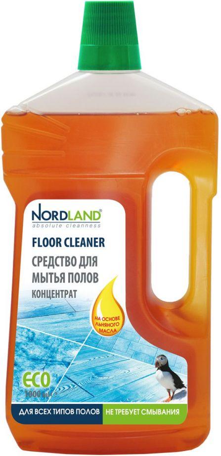 NORDLAND Средство для мытья полов на основе льняного масла, 1 л