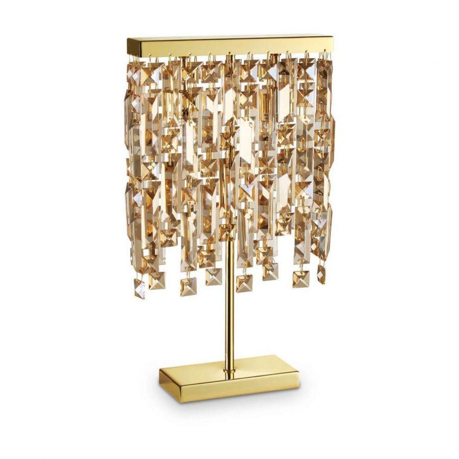 Настольная лампа Ideal Lux Elisir TL2 Ottone