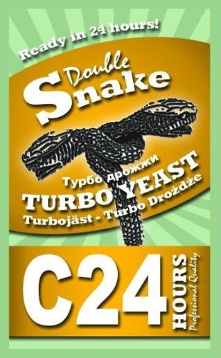 Дрожжи Double Snake C24 Turbo 175 гр