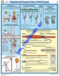 Предохранительные пояса строительные