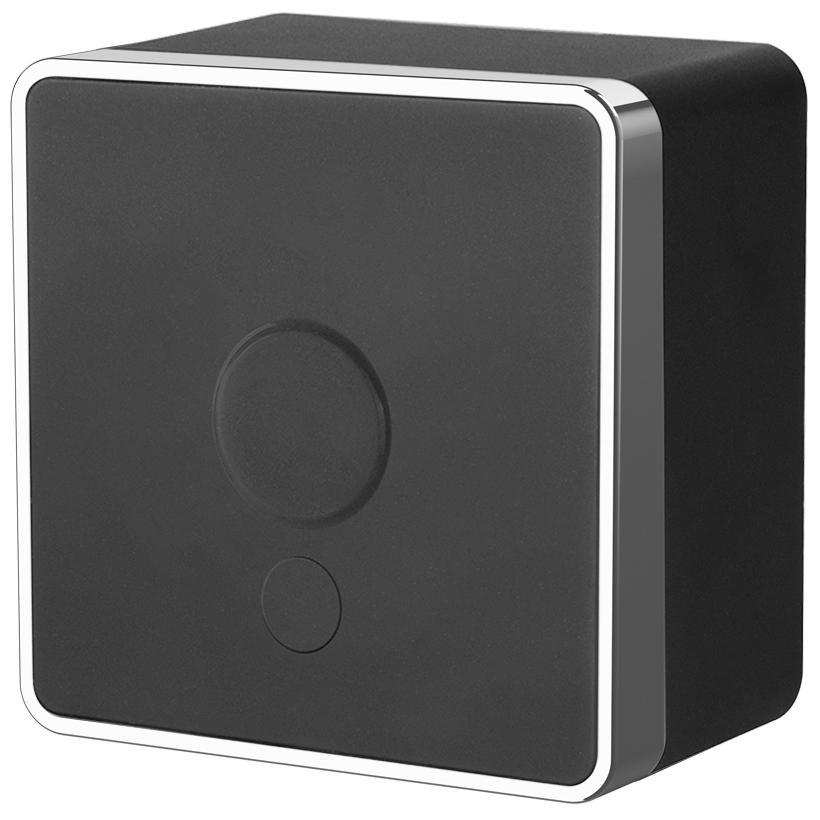 Вывод кабеля Werkel Gallant черный/хром WL15-16-01 4690389130311