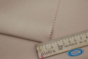 "Костюмная ткань стрейч ""Барби"" VT-10016/C#2 беж"