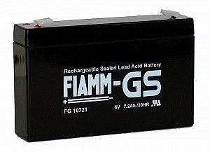 Аккумулятор FIAMM FG 10721