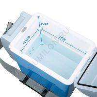 Автомобильный холодильникнагреватель Portable Electronic Cooling and Warming Refrigerator, 7.5L