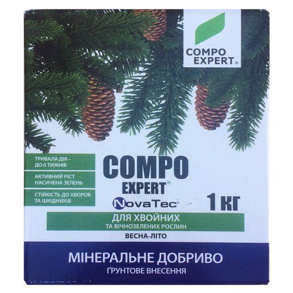 COMPO EXPERT NovaTec для хвойных и вечнозеленых растений (1 кг)