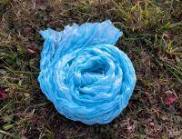 Голубой шелковый шарф, купить в Москве