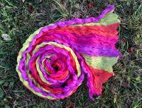 Яркий розовый с фиолетовым шарф. Москва, интернет магазин