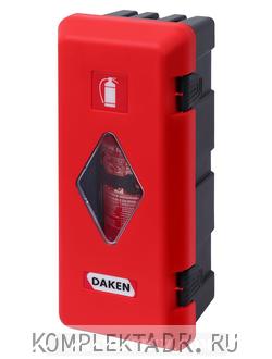 Пенал для огнетушителя на 6-9 кг на бензовоз (Арт: 70011DAM)