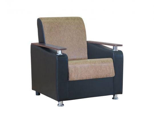 """Кресло для отдыха """"Мелодия ДП 1"""" замша коричневая"""