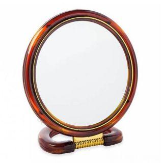 Круглое настольное двустороннее зеркало с увеличением Chic De Mirror, 11 см