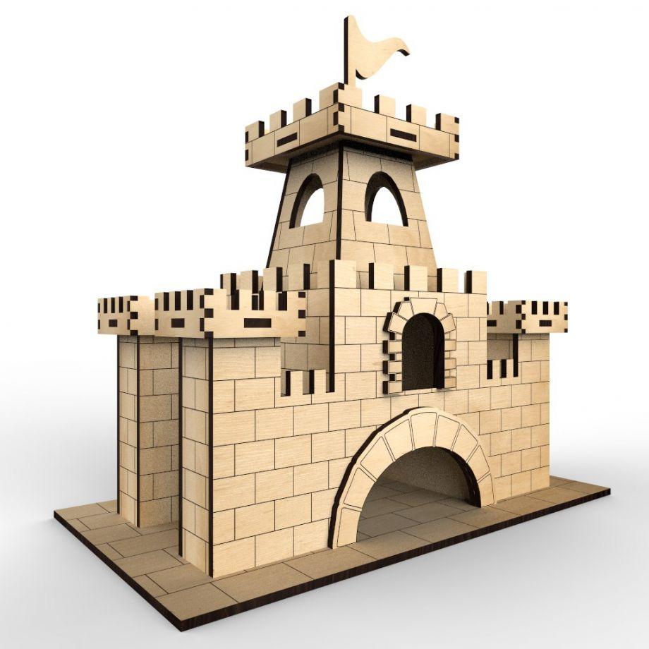 Чайный домик замок