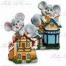 Копилка мышка символ счастья