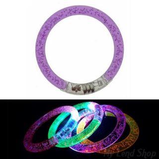 Светящиеся браслеты, 1 шт., Фиолетовый