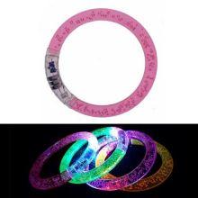 Светящиеся браслеты, 1 шт., Розовый