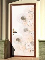 Наклейка на дверь - Невесомые магазин Интерьерные наклейки