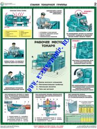 Безопасность работ на металлообрабатывающих станках