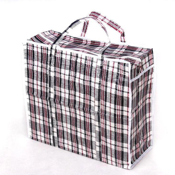 Хозяйственная сумка на молнии, 40х38х22 см, цвет черный