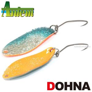 Блесна колебалка Antem Dohna Area Spoon 30 мм / 2,5 гр / цвет: Frozen Green