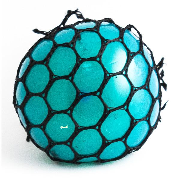 Игрушка-мялка Шарик малый синий