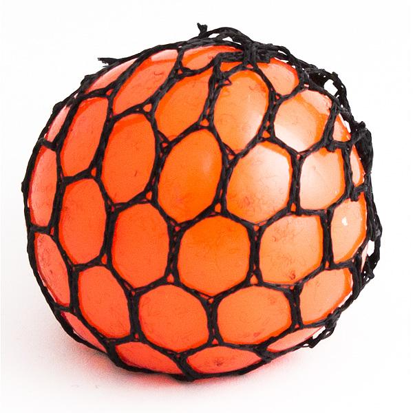 Игрушка-мялка Шарик малый оранжевый