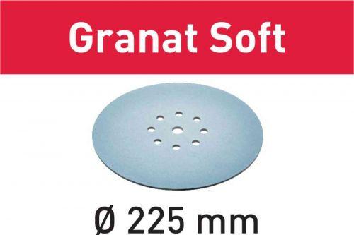 Шлифовальные круги STF D225 P180 GR S/25 Granat Soft 204225